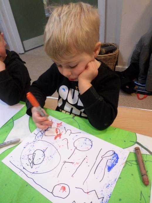 Great Drawing - Play Days Nursery